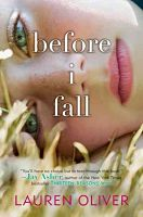 Book cover: Before I Fall