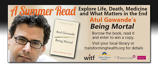Find A Summer Read at the Library : Being Mortal