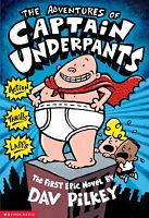 Book cover: Captain Underpants