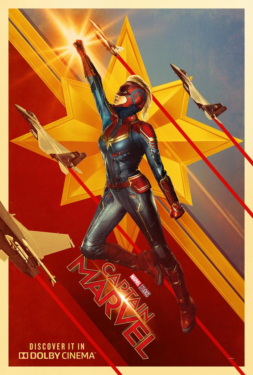 Cover: Captain Marvel