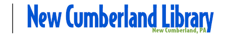 New Cumberland Library Top Logo