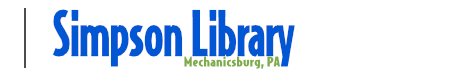 Simpson Library Top Logo