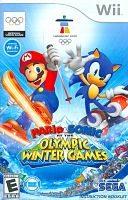 Video game cover image: Mario & Sonic at the Olympic Winter Games. Vancouver 2010