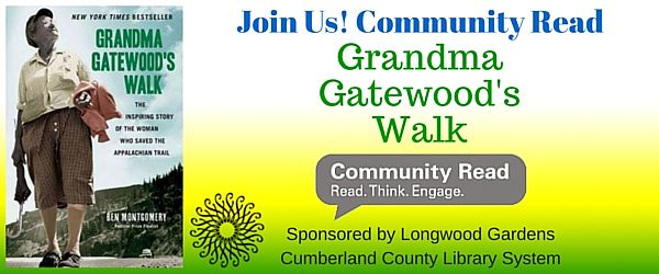 Join Us! Community Read - Grandma Gatewood's Walk