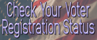 Check Your Voter Registration Status