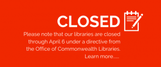 We are closed until at least April 6