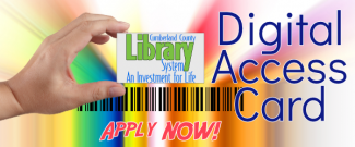 Cumberland County Library System Digital Access Card - Apply Now!