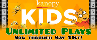 Kanopy Kids - Unlimited Plays - Now Through May 31st!
