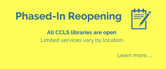 Libraries are reopening. Learn more!