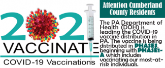 Attention Cumberland County Residents 2021 COVID-19 Vaccinations